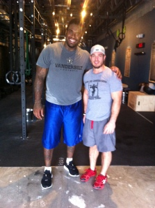 Former defensive tackle for the Tennessee Titans trains at CFBH.